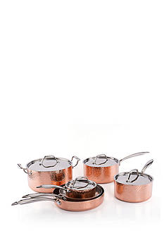 Fleischer and Wolf™ Seville 10-Piece Copper Cookware Set