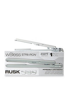 RUSK W8Less Professional Ceramic and Tourmaline 1-in. Flat Iron