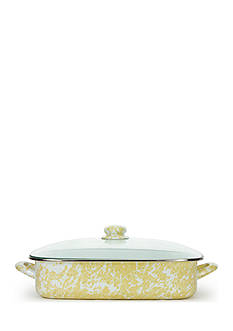 Golden Rabbit 16-in. Swirl Lasagna Pan with Lid