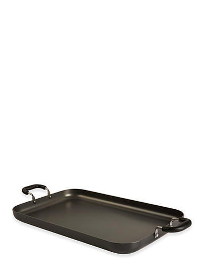 T-fal® Nonstick 18-in. x 11-in. Double Burner Family Griddle