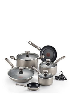 T-fal® 12-Piece Excite Shimmer Cookware Set