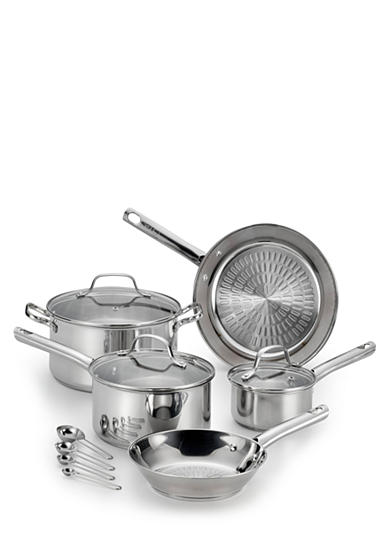 T-fal® PerformaPro Stainless Steel 14-Piece Cookware Set