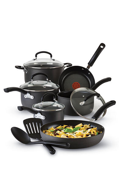 T-fal® Ultimate Hard Anodized Nonstick 12-Piece Cookware Set