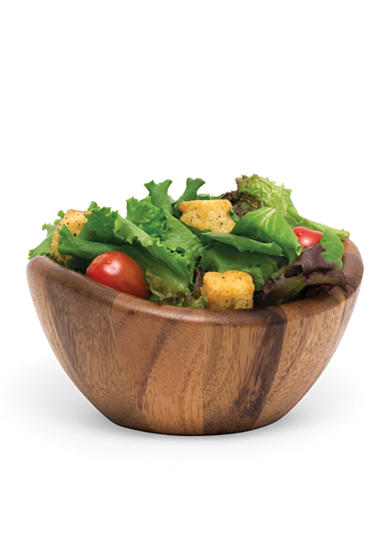 Lipper International Acacia Small Wave Bowl