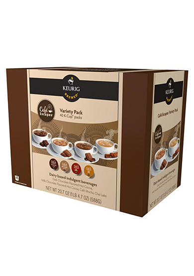Keurig® Cafe Escapes Variety K-Cup Pack 40 Count