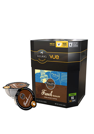 Keurig® Tully's French Roast Vue Pack 16 Count