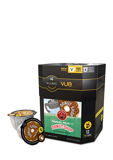 Keurig® Coffee People Donut Shop Travel Mug Vue Pack 12 Count