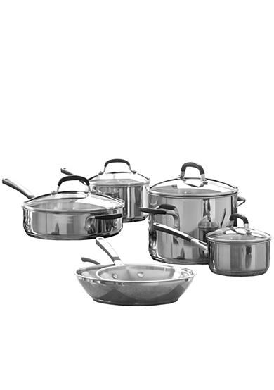 Calphalon® Simply Stainless 10-Piece Cookware Set