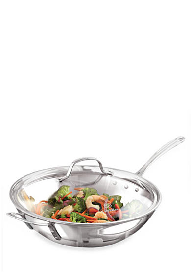 Calphalon® Tri-Ply Stainless Steel 12-in. Stir Fry