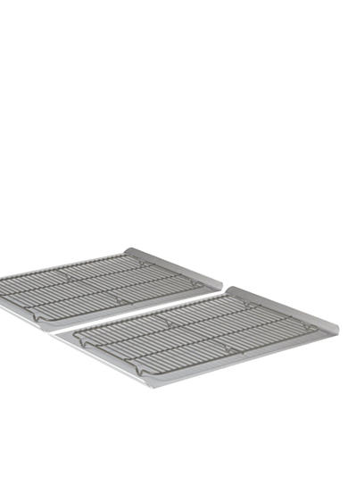Calphalon® Nonstick Bakeware 4-Piece Large Cookie Sheet & Cooling Rack Set - Online Only