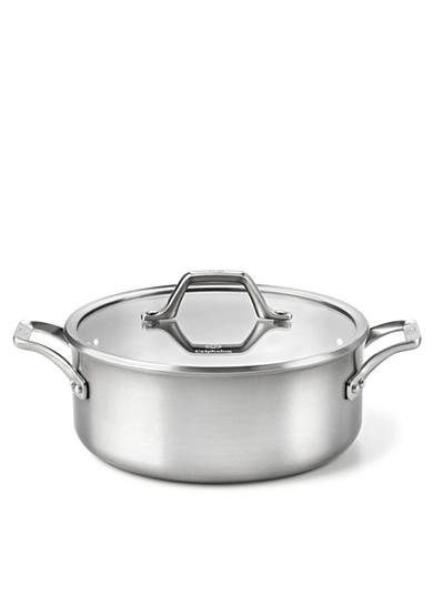 Calphalon® AccuCore Stainless Steel 5-qt. Dutch Oven & Cover