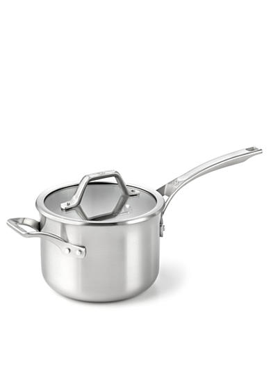 Calphalon® AccuCore Stainless Steel 3-qt. Sauce Pan & Cover