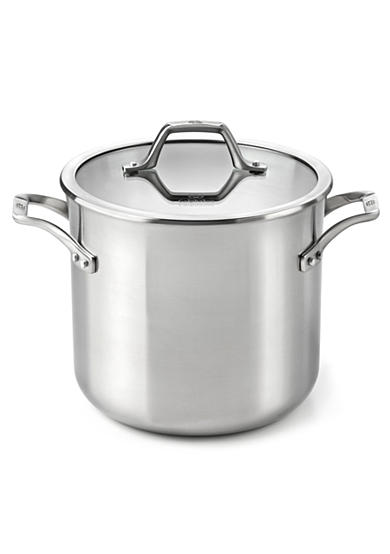 Calphalon&reg; AccuCore Stainless Steel 8 qt. Stock Pot & Cover<br>
