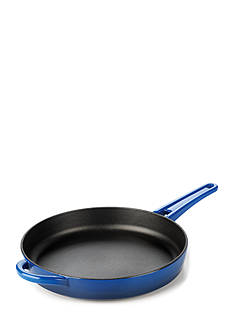 Calphalon Simply Blue Enamel Cast Iron 10-in. Frying Pan