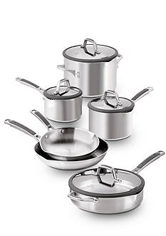 Calphalon Easy System Stainless 10-Piece Set