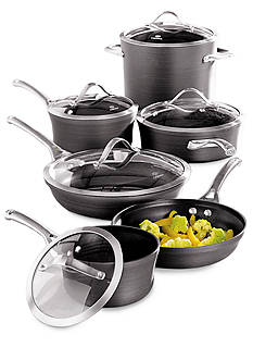 Calphalon® Contemporary Hard Anodized Nonstick 11-Piece Cookware Set