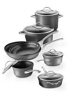 Calphalon Contemporary Nonstick Aluminum 12-Piece Cookware Set