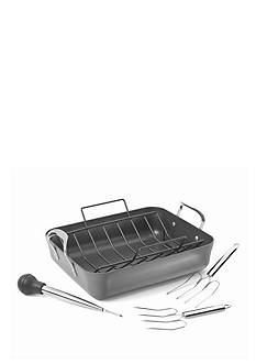 Calphalon® Contemporary Nonstick Hard Anodized Aluminum Roaster