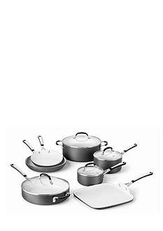Calphalon® 11-Piece Nonstick Hard Anodized Ceramic Collection