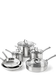 Calphalon® Classic 10-Piece Stainless Steel Cookware Set