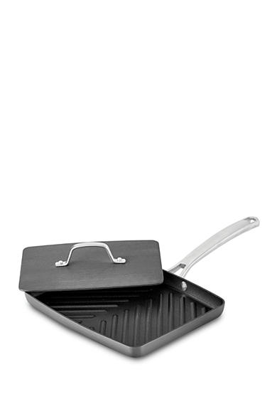 Calphalon® Classic Hard-Anodized Nonstick Panini Pan with Press
