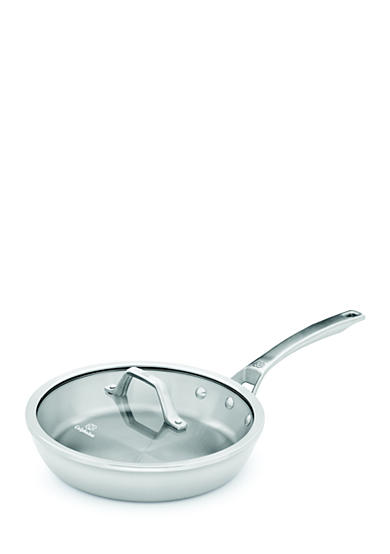 Calphalon® Signature™ 10-in. Stainless Steel Skillet Pan with Cover