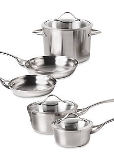 Calphalon Contemporary Stainless Steel 8-Piece Cookware Set