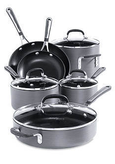 Calphalon® Simply Hard Anodized Nonstick 10-Piece Cookware Set