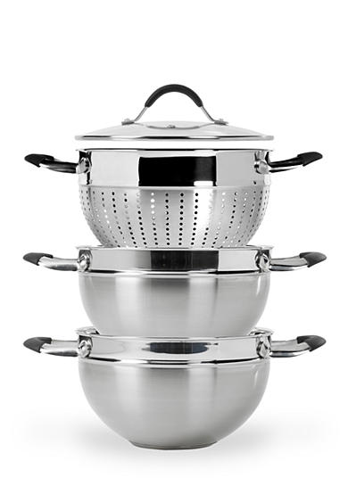 Tabletops Unlimited 4-Piece 5-qt. Stainless Steel Multi-Funtional Cooker - Online Only