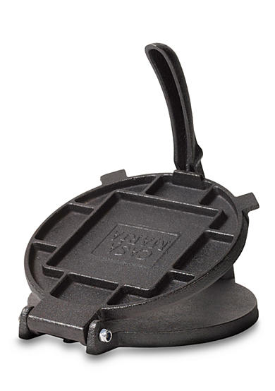 Tabletops Unlimited Casa Maria Cast Iron Tortilla Press - Online Only