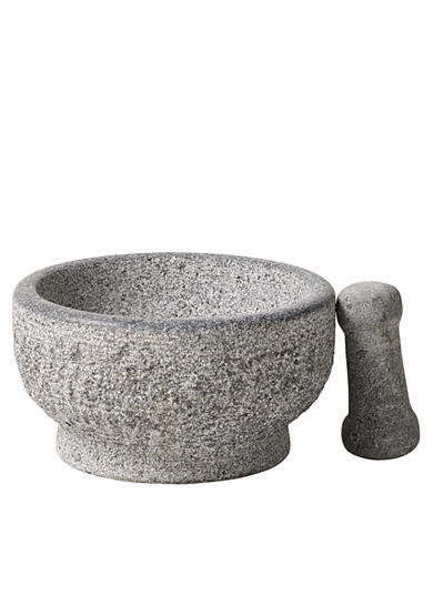 Tabletops Unlimited Casa Maria Natural Stone Mortar and Pestle Set - Online Only