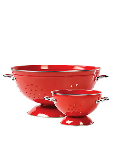 Tabletops Unlimited Vita Italiana 2pc Colander Set - Online Only