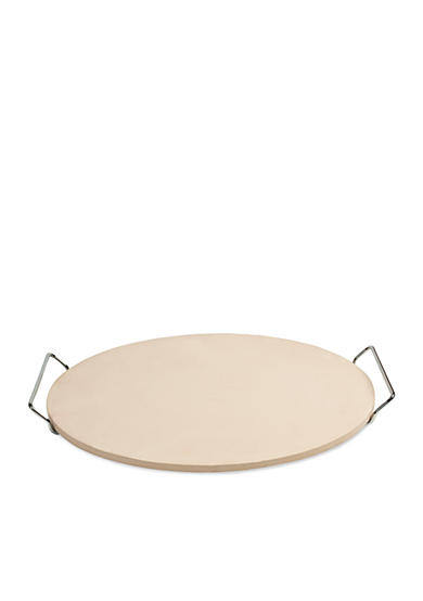 Cooks Tools™ 15-in. Round Pizza Stone with Wire Frame