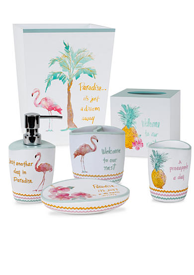 Saturday Knight Flamingo Fever Bath Accessories