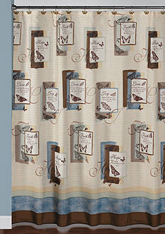 Saturday Knight Blessings Shower Curtain and Hooks Collections
