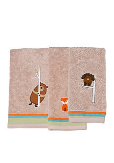 Saturday Knight Forest Friends Bath Towel Collection