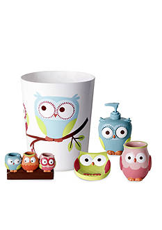 Saturday Knight Hooty Bath Accessories Collection