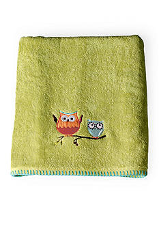 Saturday Knight Hooty Bath Towel Collection