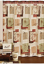 Inspire Shower Curtain 72-in. x 70-in.
