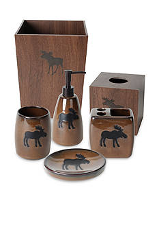 Saturday Knight Silhouette Wildlife Bath Accessories  - Online Only