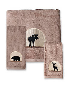 Saturday Knight Silhouette Bath Towel Collection