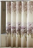 Croscill Wisteria Shower Curtain and Hooks