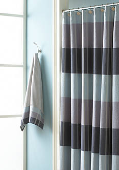 Croscill Fairfax Shower Curtain and Hooks