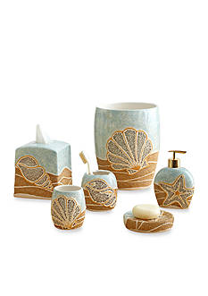 Croscill Shells Ashore Bath Accessories