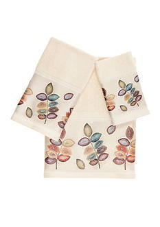 Croscill Mosaic Leaves Towel Collection