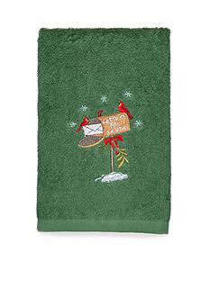Avanti Letters Santa Fingertip Towel