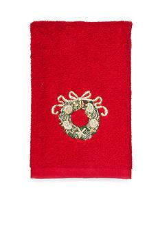 Avanti Coastal Wreath Fingertip Towel