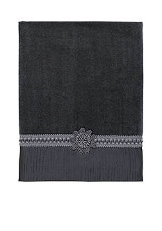 Avanti Braided Cuff Granite Towel Collection