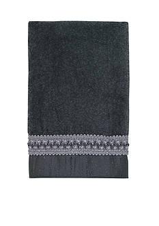 Avanti Braided Cuff Granite Hand Towel
