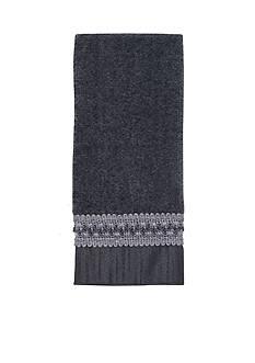 Avanti Braided Cuff Granite Fingertip Towel